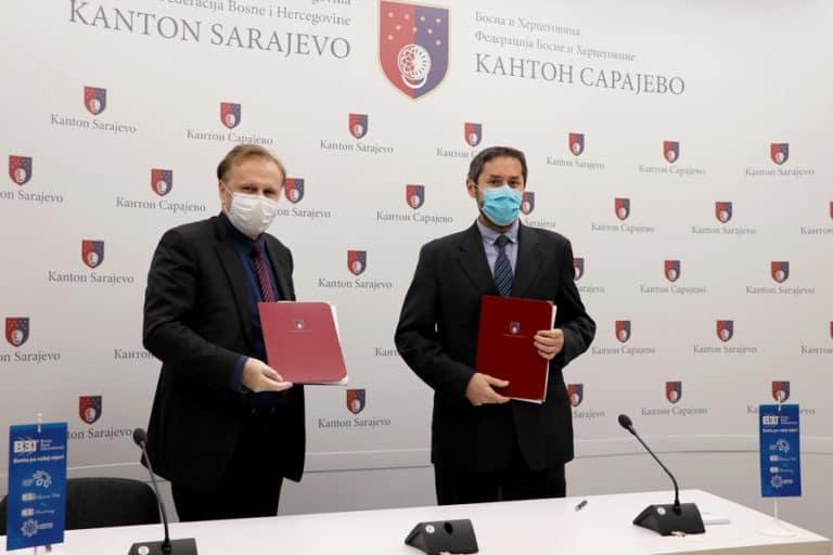 BBI banka i Vlada Kantona Sarajevo – 42,5 miliona KM za privrednike