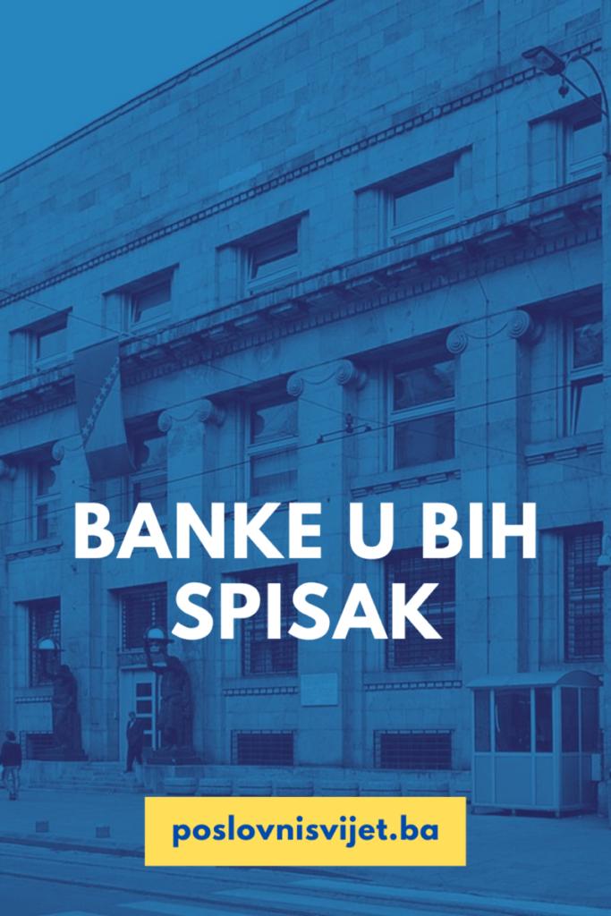 BANKE U BIH SPISAK