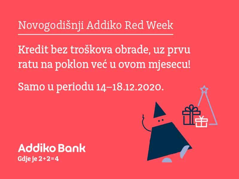 Addiko Red Week akcija