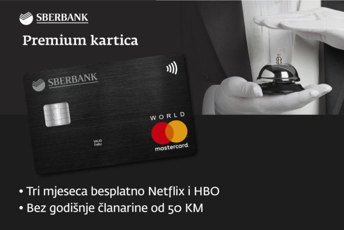 Premium kartica Sberbank BH
