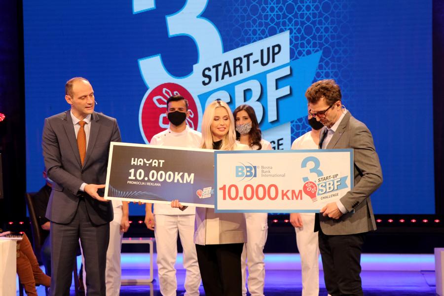 Pobjednica 5. emisije treće sezone SBF Start-up Challenge Lejla Reizbegović