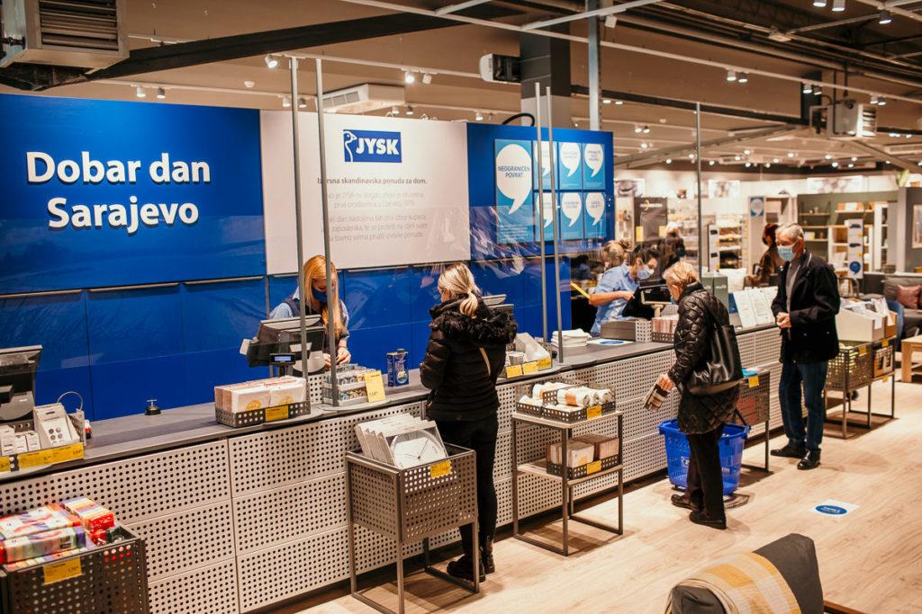 Danski lanac JYSK u Sarajevu otvorio prvu XL trgovinu u regiji