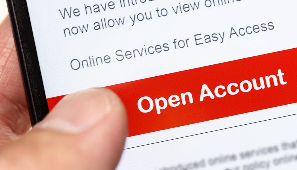 Kako online otvoriti račun u banci
